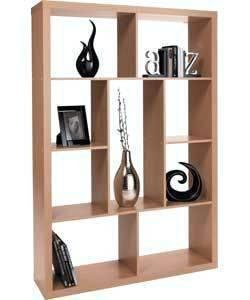 Ex Argos Susan Room Divider Maple Finish Flatpack