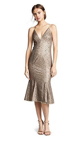 Zac Posen Women's Zac Zac Posen Robin Dress, Gold, 8