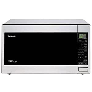 Amazon Com Panasonic 2 2 Cu Ft 1250 Watt Microwave Oven