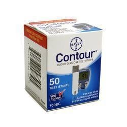 Bayer Contour Test Strips, 50 CT