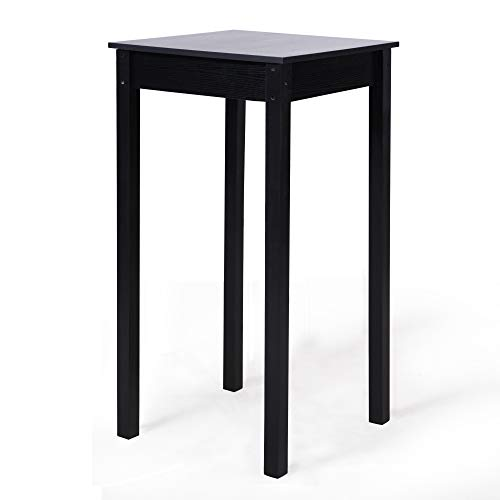 Exceptionnel Homevibes Pub Table Square Bar Table Parkland High Table Modern Height Table  Wooden Style Dinning Room