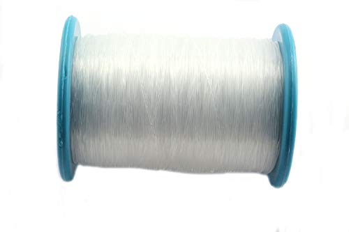 RuiLing 340m/Roll 0.8mm Transparent Nylon Fishing Line Super Strong DIY Jewelry Making Supply Necklace Bracelet Beading Wire/Thread/String/Rope ()
