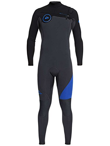 Eqyw103038 Dark deep Wetsuit Gbs black Series Graphite 3 Ivy 2mm Quicksilver Zip Syncro camo Chest Cyanine 2018 Bzwq7AZHA