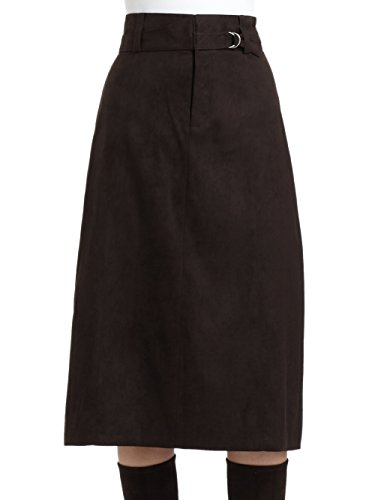Elie Tahari Women's Georgia Skirt in Vanilla Bean (Brown) Size - Womens Tahari Skirt Elie