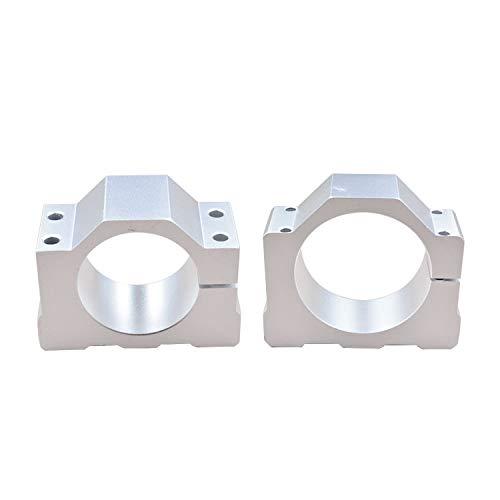Aluminum 52 65mm mold shaft motor mount bracket clamp for CNC engraving machine 52mm