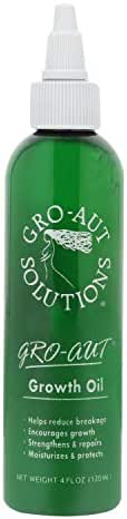 Gro-aut Hair Growth Oil - Herbal Nutrients To Help Fill Bald Patches, Reverse Hair Loss, and Grow Long Hair