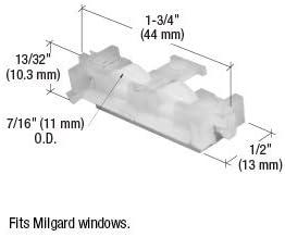 Sliding Window Roller with 7//16 Nylon Wheel for Milgard Windows