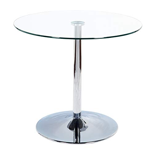 (Target Marketing System 89017CLR Pisa Modern Retro Round Dining Table, 35.4