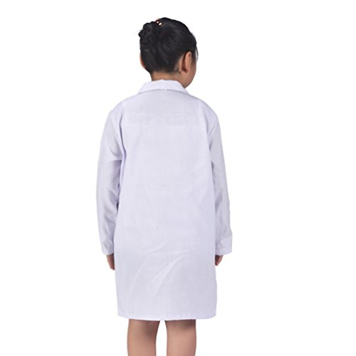 CalorMixs America Kids Unisex Doctor Lab Coat Doctor Role Play Costume Dress-Up (Small) by CalorMixs (Image #2)