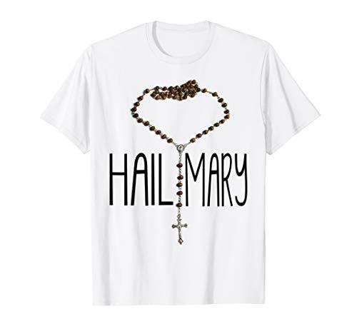 Storecastle: Hail Mary Catholic Rosary T-Shirt
