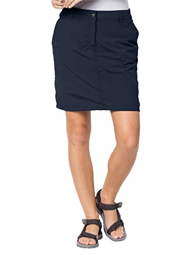 Jack Wolfskin Women's Kalahari Skirt/Skirt, Midnight Blue, 38 (US 29/31) by Jack Wolfskin