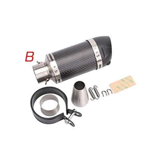 (Huashao Motorcycle Exhaust Pipe Muffler Tube Carbon Fiber Exhaust Pipe for Honda CBR-125/250)