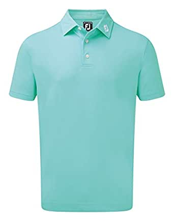 Footjoy Stetch Pique Solid Shirts, Polo para Hombre: Amazon.es ...
