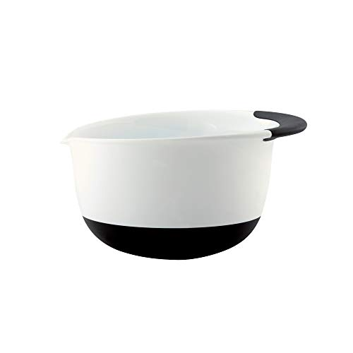- OXO Good Grips 3-Quart Mixing Bowl, White/Black