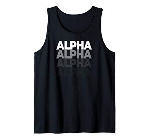 - Alpha team alpha T-Shirt Tee Tank Top