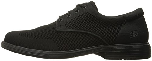 Caswell Black US Aleno Men's Oxford Skechers USA M 10 wq86aE84ZW