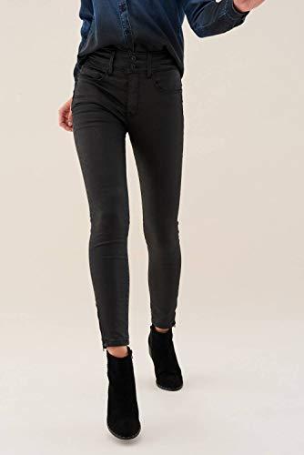 Secret Jeans Nero Salsa Coating Capri agwq5