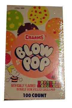 Charms Assorted Flavor Blow Pops (Blo Pops) (Blo Pops)