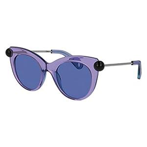 Sunglasses Christopher Kane CK 0012 S- 005 LIGHT-BLUE / BLUE SILVER