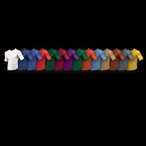 Short Sleeve Shirt, Royal, Youth Medium (Wsi Baseball Shirt)