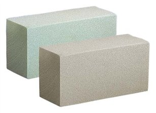 SAHARA II Dry Foam Brick, Green, 48 case, 48/case
