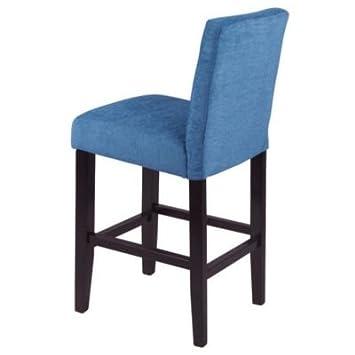 Genial Monsoon Pacific Aprilia Counter Chairs, Set Of 2, Blue