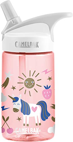 CamelBak Eddy 0.4-Liter Kids Water Bottle - Easy to Use for Kids Kids Big Bite Valve - Spill Proof- Not for Children Under 3 Years - Water Bottle for Kids - BPA-Free Water Bottle - 12 Ounces (Best Dishwasher For Well Water)