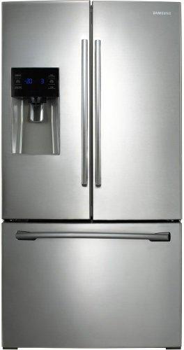 Samsung RF263BEAESR 25.6 Cu. Ft. Stainless Steel French Door Refrigerator - Energy Star (Fridge Samsung Stainless)