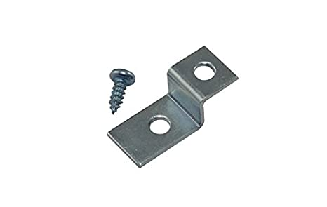 """1/"""" Depth Offset Mounting Canvas Z Clips For Picture Framing #6 X 3//8/"""" Pan -"""