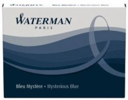 Waterman Refills Blue Black (Pack of 8) Fountain Pen Cartridge - 52026W