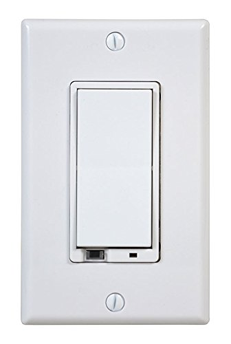 NuTone NWD500Z Smart Z-Wave Enabled Wall Dimmer Switch, 500W, White
