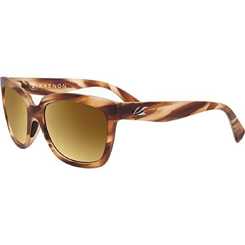 Kaenon Adult Cali Polarized Sunglasses, Driftwood/Brown 12 Gold, One ()