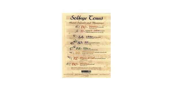 Amazon.com: Music Treasures Co. Large Solfege Poster: Prints ...