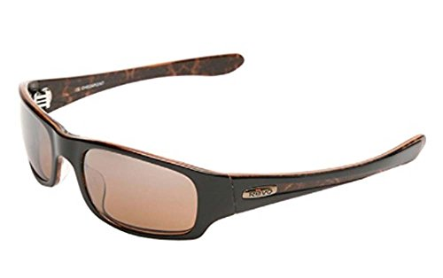 Revo Adult D-Checkpoint Polarized Sunglasses - Iron Wood/Bronze, - Sunglasses Polarized Revo