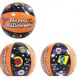 Set of 3 Trick or Treat Halloween Beach Balls / Party / Favor / Toy / Novelty