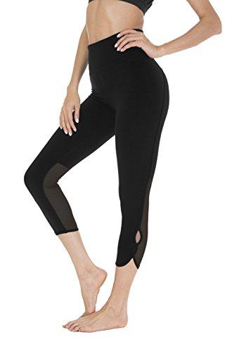 Queenie Ke Women 22 Yoga Capris Running Pants Workout Legging - Tummy Control