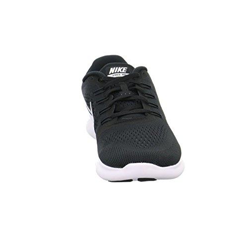 NIKE Men's Free RN, Black/White-Anthracite, 7 M US by Nike (Image #4)