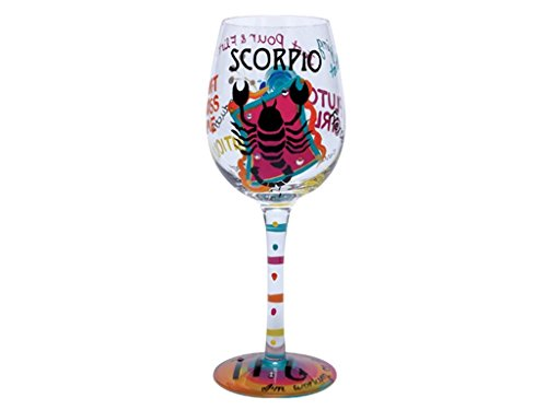 Santa Barbara Design Studio Lolita Holiday Mini-Wine Ornament, Scorpio