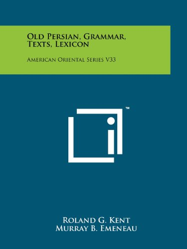old persian - 1