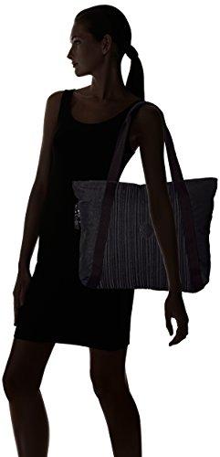Black Donna Nero Celestra Kipling schwarz Borsa pleated Spalla A c4F7n8cr
