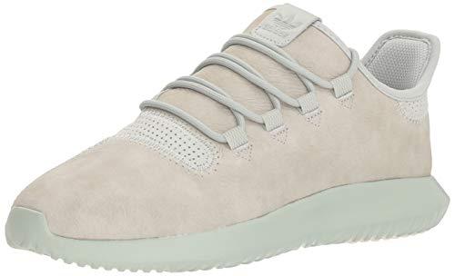 adidas Originals Men's Tubular Shadow Running Shoe, Chalk White/ash Silver, 9.5 M ()