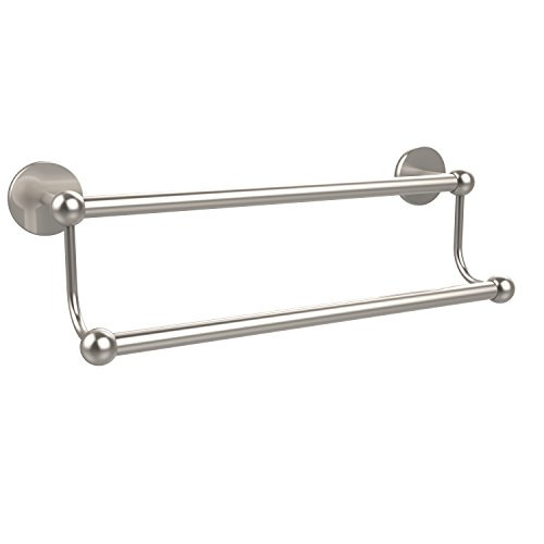 Allied Brass 18'' Double Towel Bar Satin Nickel by Allied Brass