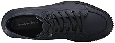 CK Jeans Men's Jenson Coated Canvas Fashion Sneaker