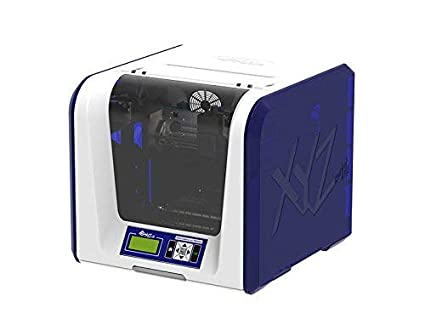 "da Vinci Jr. 1.0 3in1 Wireless 3D Printer/ 3D Scanner/Upgradable Laser Engraver ~ 6"" x 6"" x 6"" Built Volume (Fully Enclosed Design for PLA/ Tough PLA/ ..."