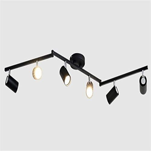 WSYYWD Lámpara de techo en blanco y negro Ángulo de iluminación Focos ajustables Tienda Tienda Showroom Iluminación Foco Foco ver foto j: Amazon.es: Iluminación