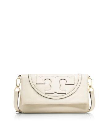 ffa30fdd9b64 Amazon.com  Tory Burch All-t Suki Fold Over Messenger Bag  Shoes