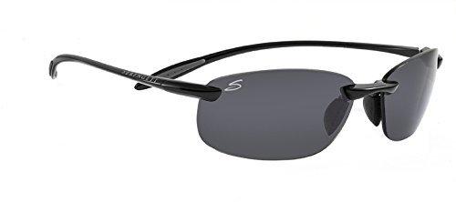 Serengeti Nuvola Polar Sunglasses,Shiny Black with CPG Lenses by Serengeti