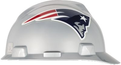 Safety Works NFL Hard Hat, New England (Full Graphics Hard Hat)