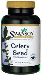 Swanson Celery Seed 500 mg 180 Caps