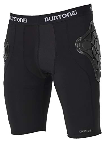 Burton Men's Total Impact Short, True Black, Medium